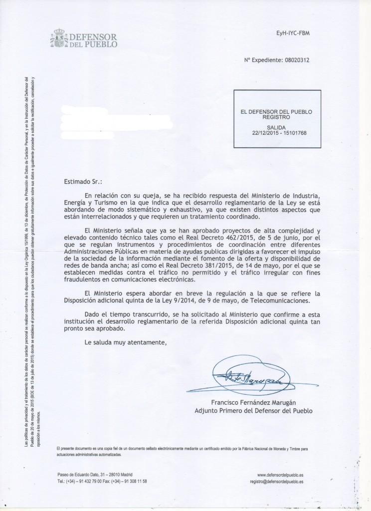 Defensor del Pueblo 04-01-2015