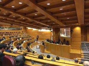 Actos oficiales por el Día de Internet en el Senado