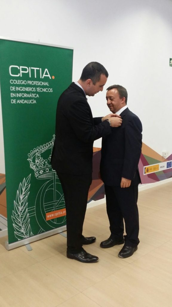 Gregorio Ambrosio Cestero colegiado de honor