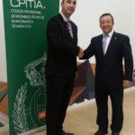 CPITIA impone la insignia de oro a Gregorio Ambrosio Cestero